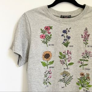 Francesca's Flower Graphic Tee